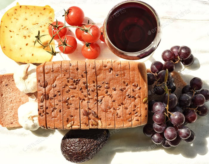 Food Flat Lay Still Life We have a tremendous bakery here in The UAE that is totally devoted to