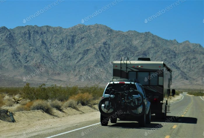 Road Trip! Recreational Vehicle! Vacation!