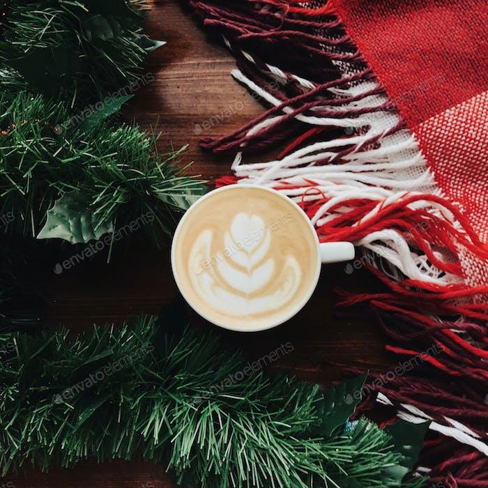 Overhead Kaffee