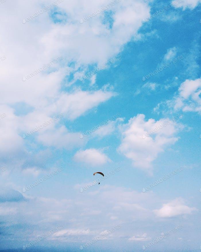 Paragliding minimalist