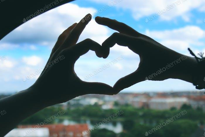 Manos de amor