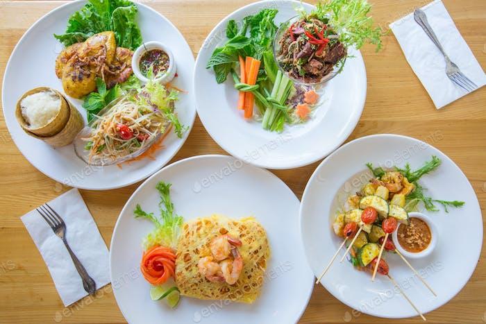 Kulinarische Speisen