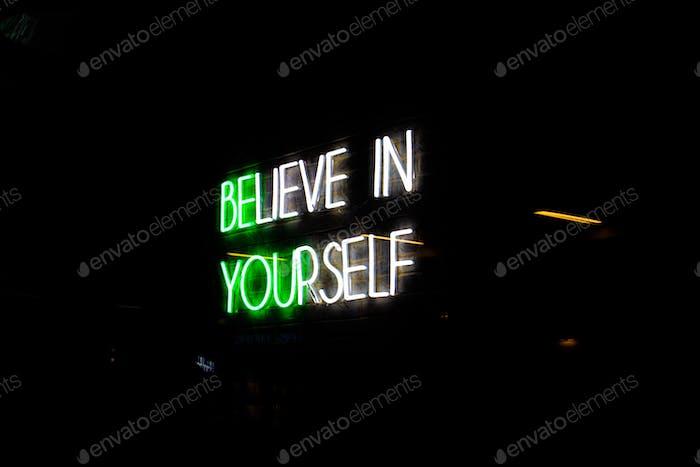Believe in yourself Arlington VA