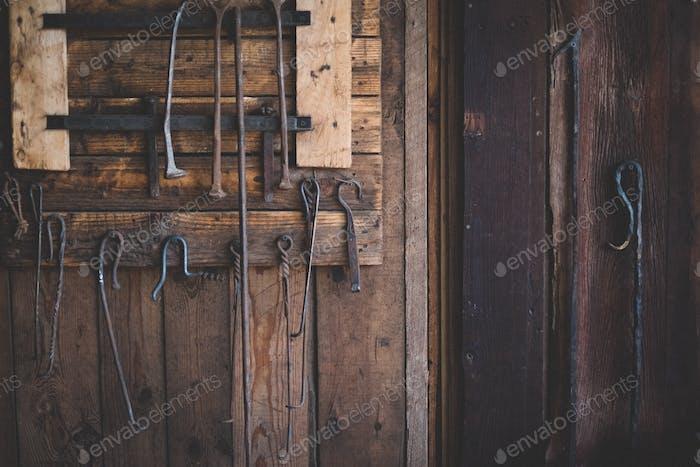 Werkzeuge des Handels.