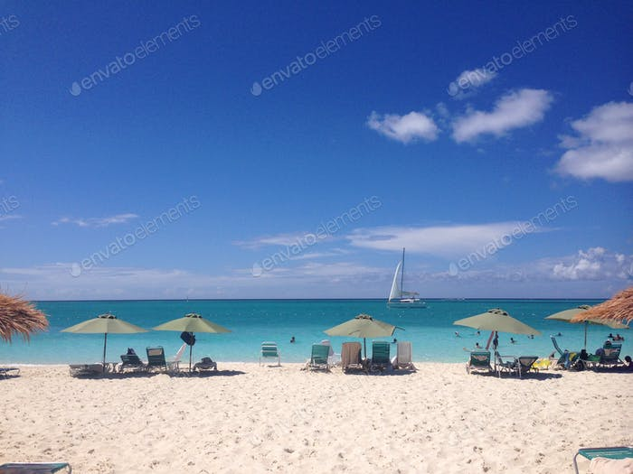 Turks and Caicos in August.