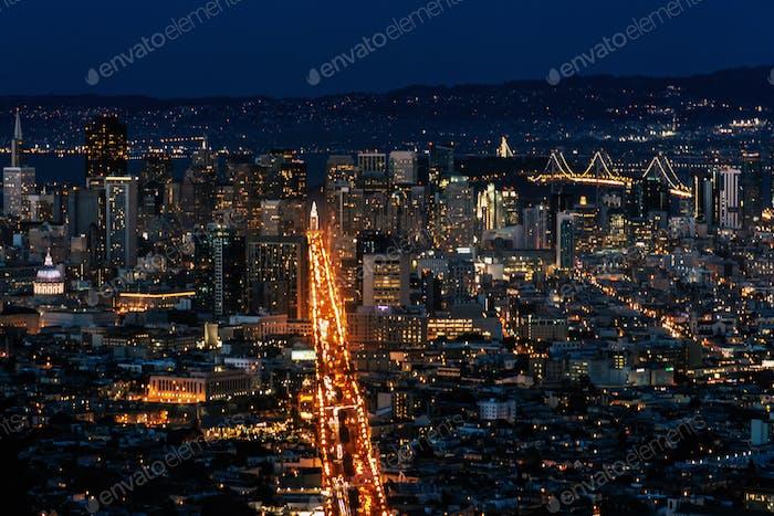 Dusky San Francisco