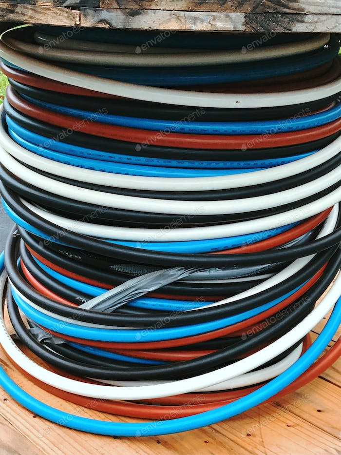 Spool Of Electrical Wires