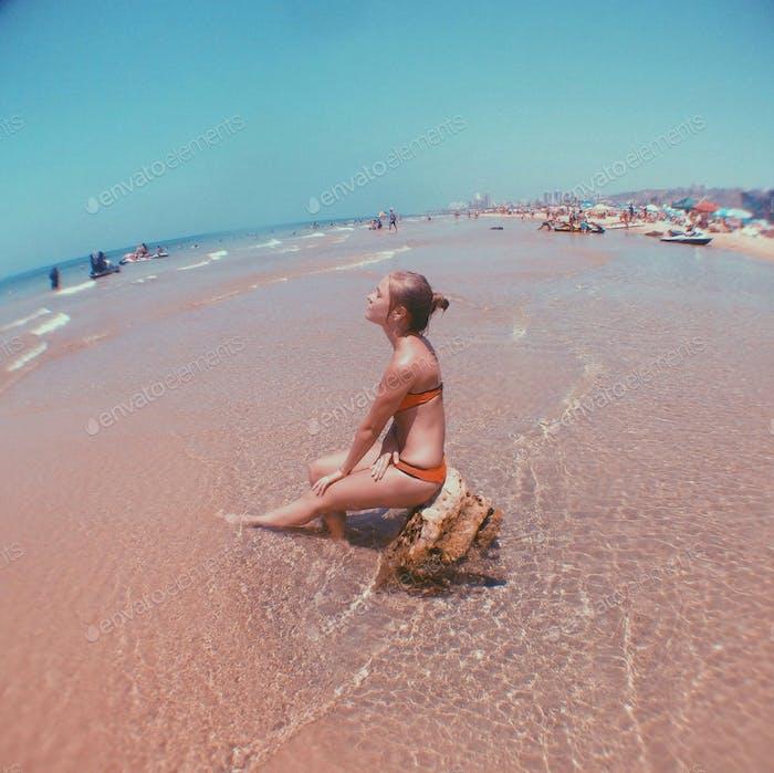 Beach day )