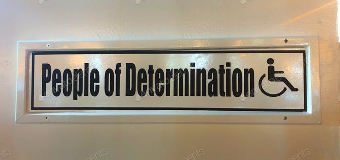 People of Determination  Not People with Disabilities