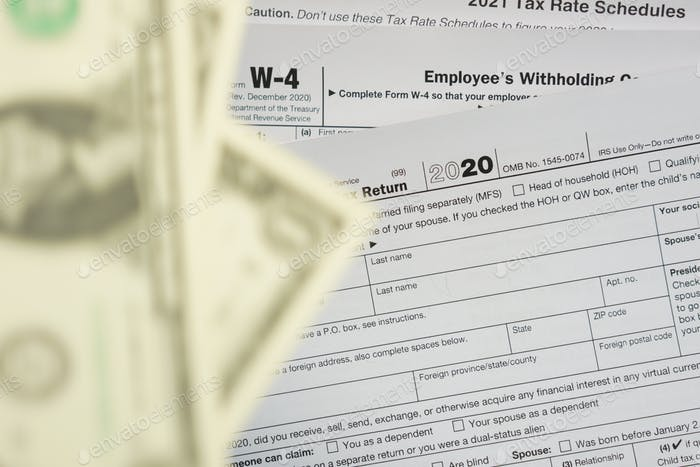 US TAXES forms
