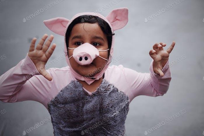 Barnyard moosical - we are pigs we love to clean