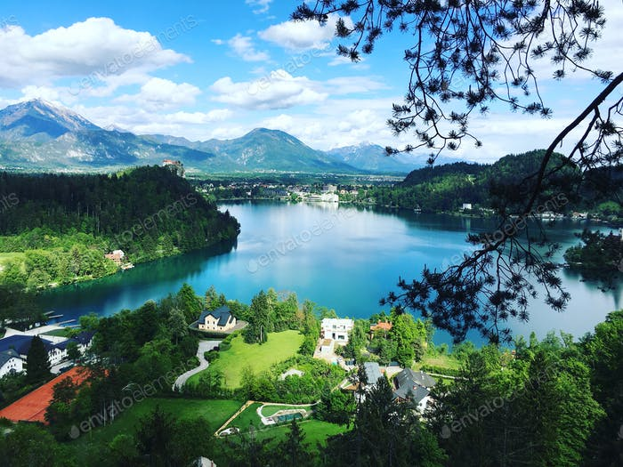 Hiking in Bled, Slovenia