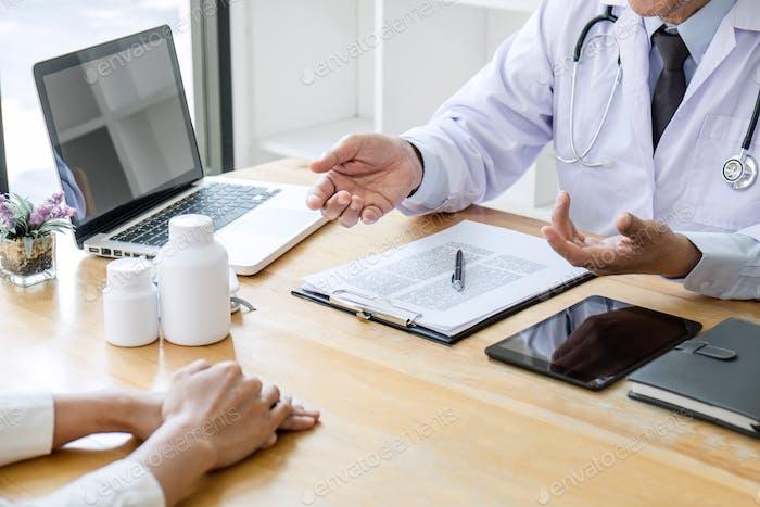 Concepto de medicina y cuidado de la salud