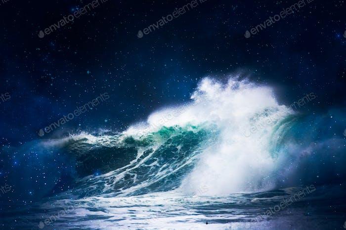 Crashing Constellation Waves 4