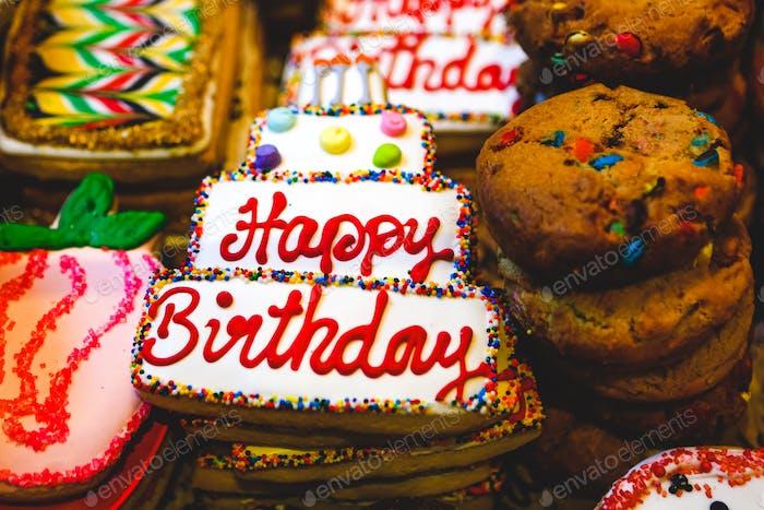 Happy Birthday Cookie