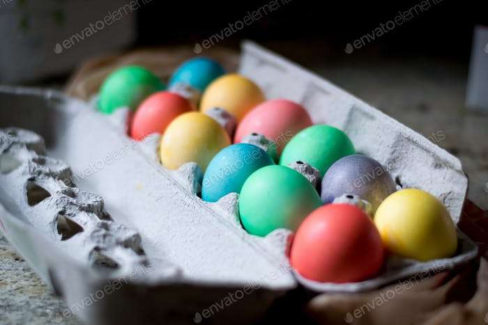 The Easter bunny's bounty