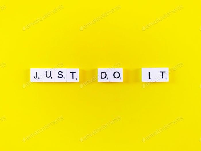 Mach es einfach.