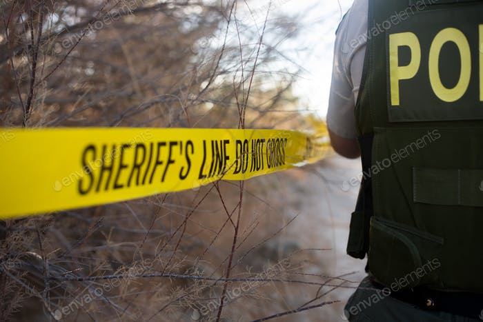 Sheriff line do not cross