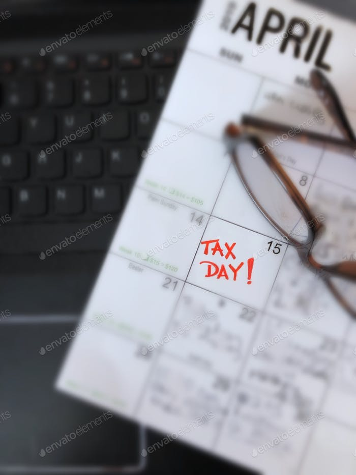 April 15 is Tax Day! Individual income tax returns are due to be submitted to USA federal government