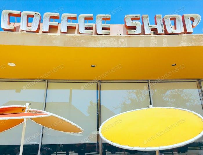 Retro 1950s coffee shop. Tonythetigersson Tony Andrews Photography