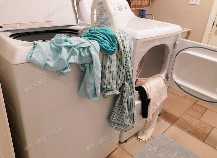 Wäsche tun