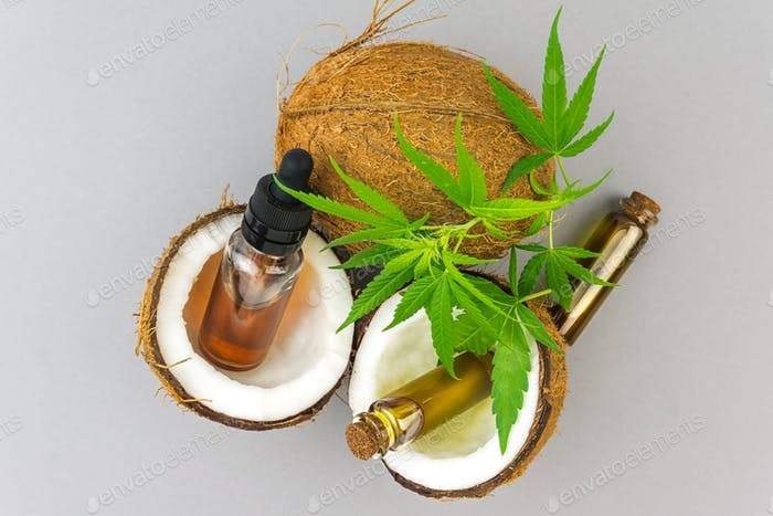 Cbd oil and coconut
