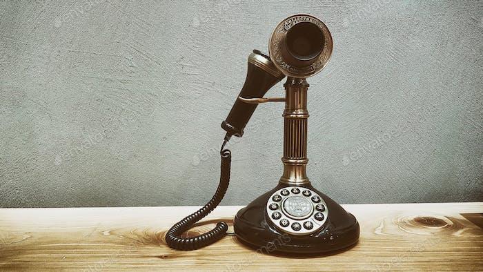 Retro analog phone