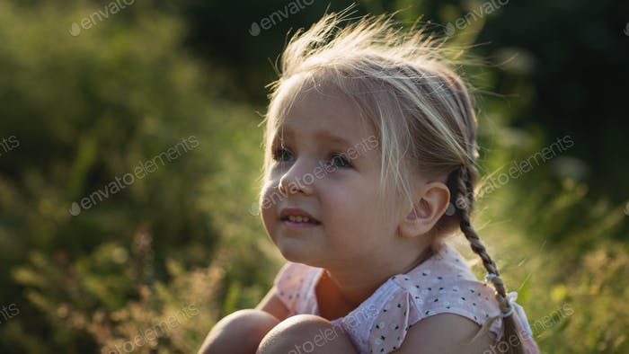 ⭐️⭐️⭐️ Nominated ⭐️⭐️⭐️      Portrait of little girl outdoor
