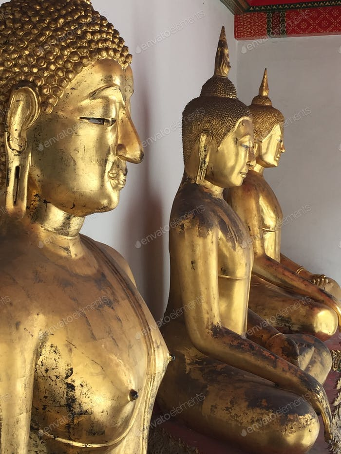 Statuettes in Thailand