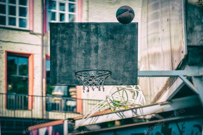 ☀️ NOMINATED ☀️  Street basketball game