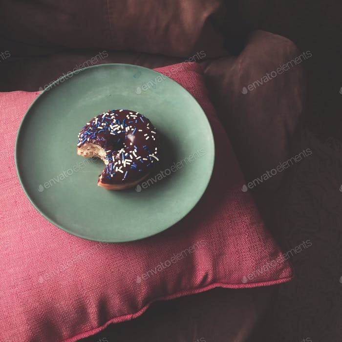 Doughnut like this picture.