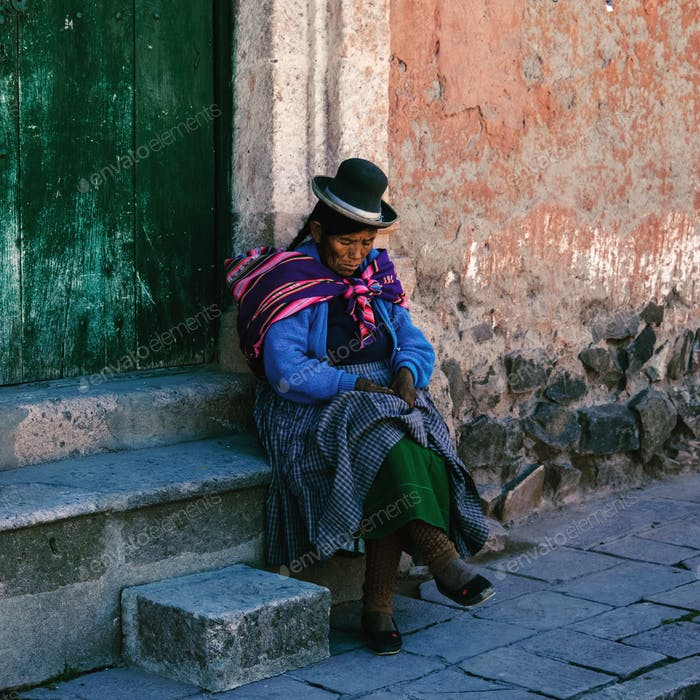 Peruvian andes outfit