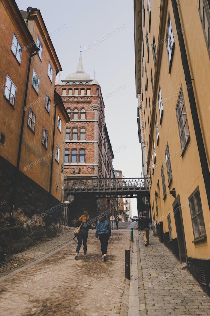Улицы города Стокгольм