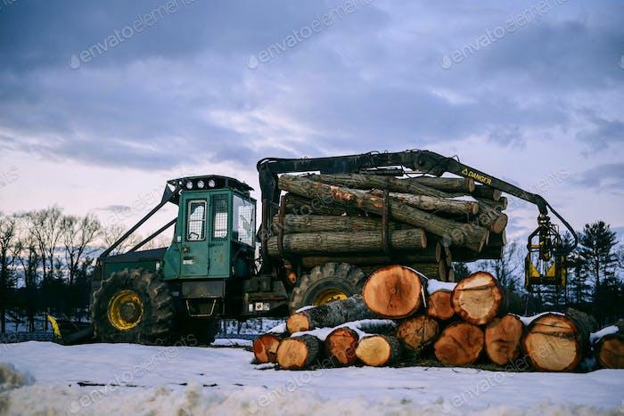 Large pieces of lumber; Wood, lumber, logging, construction