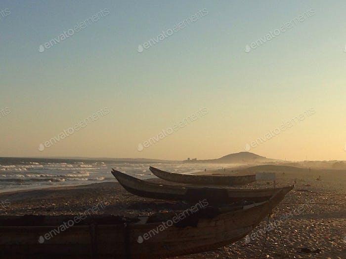 Playa en Ghana