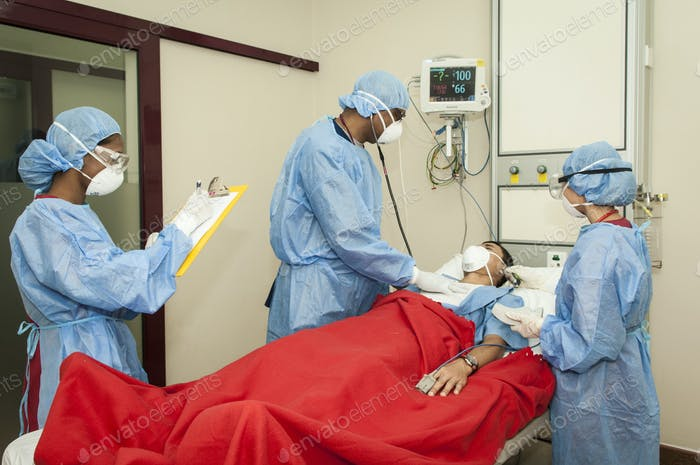 Accident & Emergency Department.
