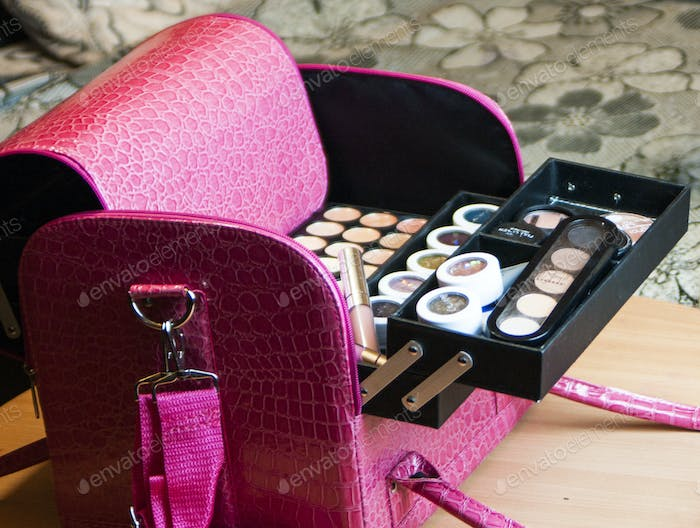 beauty the briefcase. case for cosmetic
