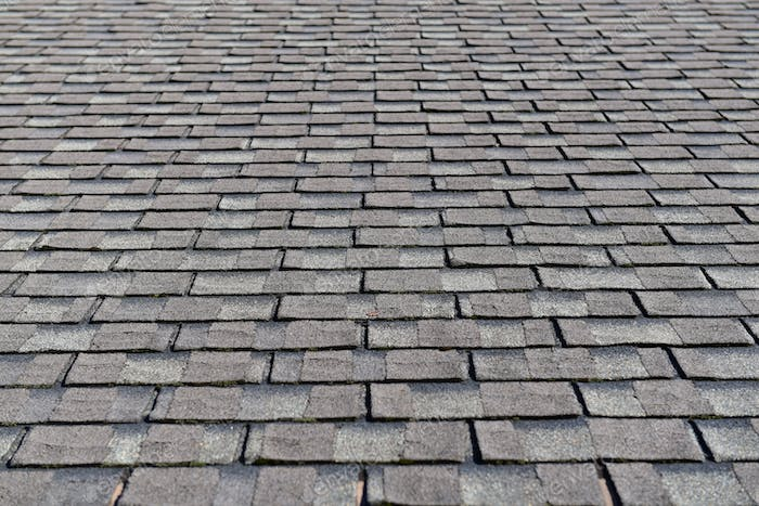 Roof surface of the house. Roof covering on a private house.