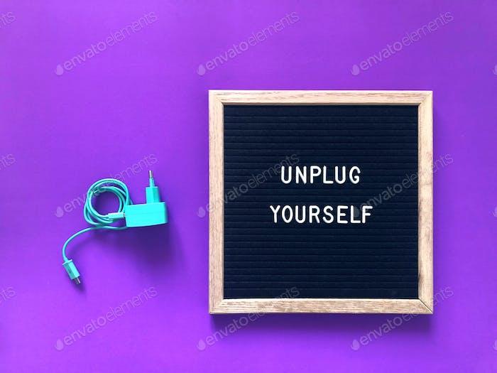 Trennen Sie sich selbst