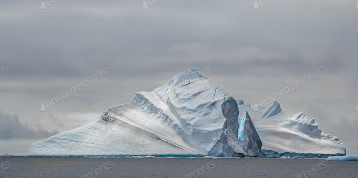 Another Antarctic iceberg - though they aren't all quite as stunning as this one!