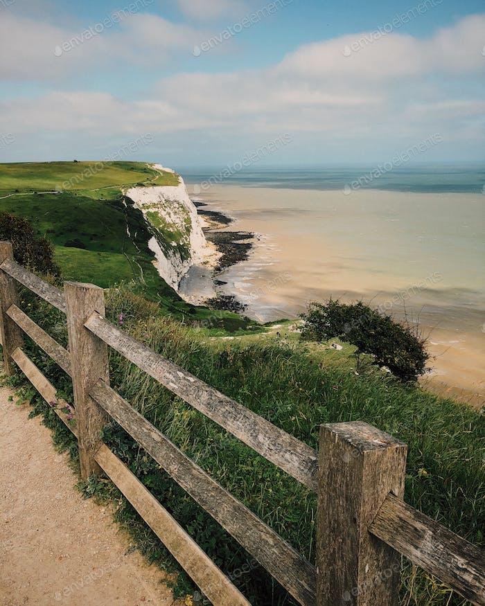 White cliffs of Dover (UK)