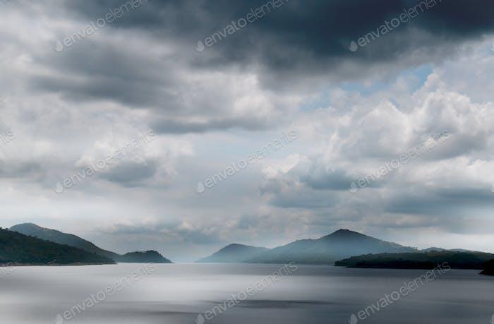 Lago Volta en Ghana