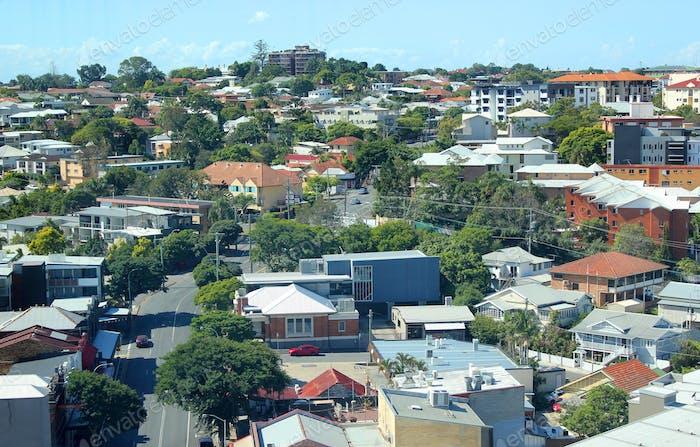 Пригородный район - Брисбен, Квинсленд, Австралия