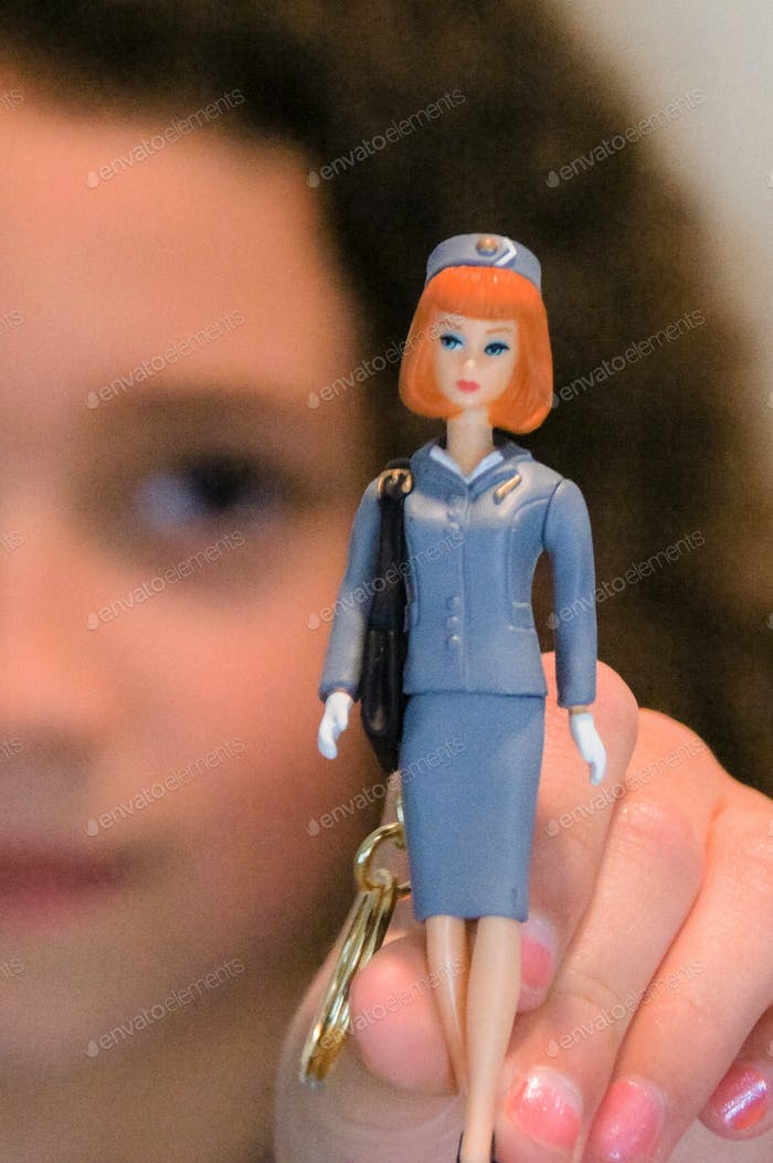 Stewardess doll