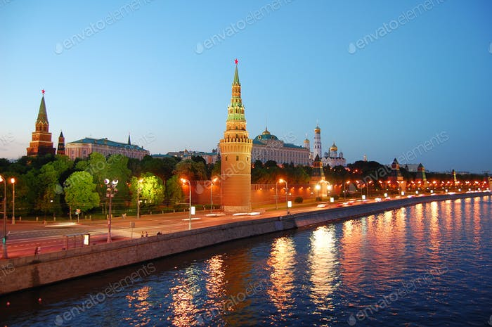 The Kremlin , Moscow