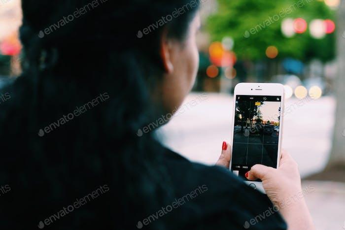 Using mobile abd tech screen