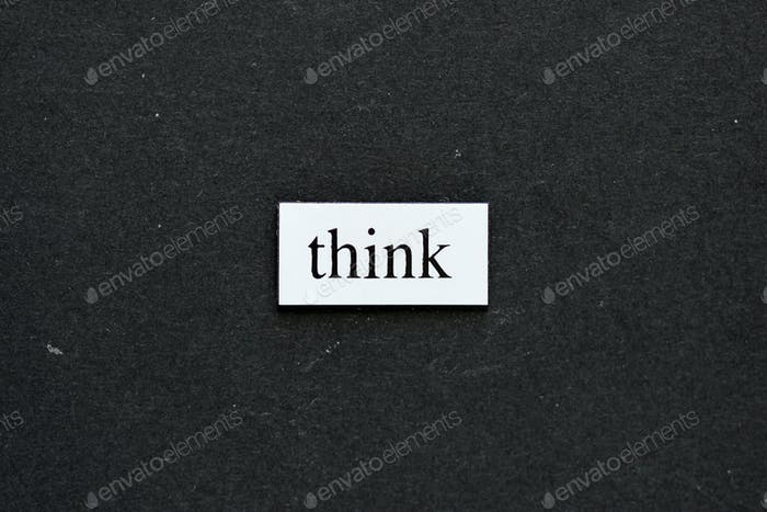 Think- concept