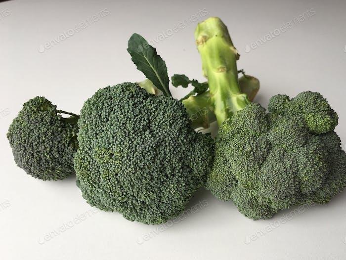 Nur ein bescheidener Gemüsebrokkoli.