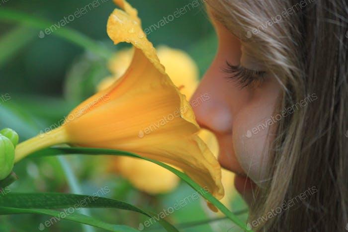 Duftende Blume