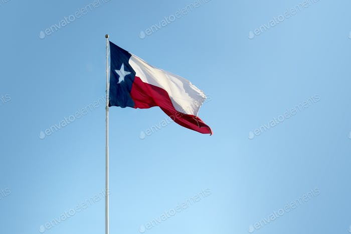 Lone star state - flag of Texas